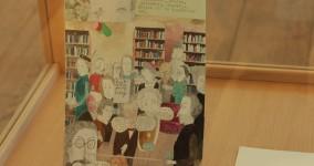 Utställningen Dagböcker Malmö Stadsbibliotek vintern 2012
